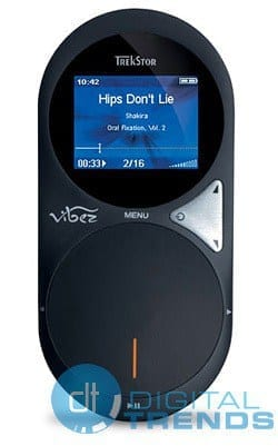 TrekStor vibez is one damn sexy MP3 player