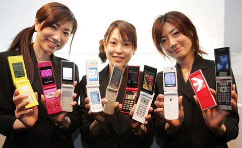Japan Has Stinky Phones