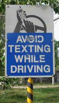 Don�t Text And Drive!