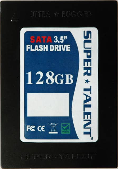Flash Based Drives in up to 128GigaByte Capacity in Three Standard Form Factors