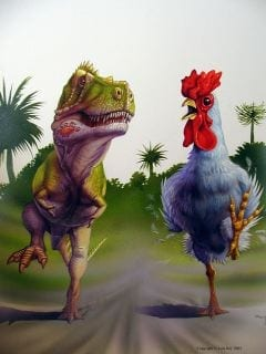 Was Tyrannosaurus Rex Nothing But a Big Chicken?