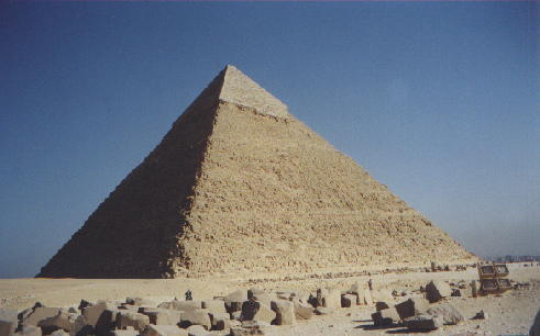 The Great Pyramid Of Giza Was Built From The Inside Out