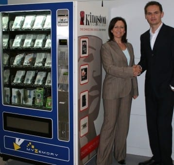Vending Machines For Flash Memory Products