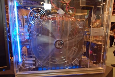 Scythe Shows Off HUGE CPU Cooler at COMPUTEX 2007�and it WORKS!
