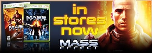 Highly anticipated Xbox 360 exclusive Mass Effect makes its long-awaited debut
