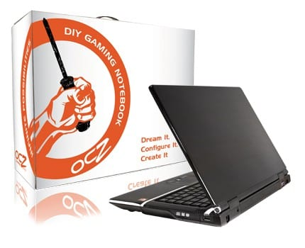 OCZ Announces 15 inch DIY Notebook Kit