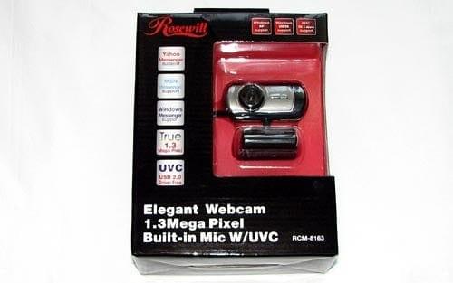 MEGATech Reviews - Rosewill RCM-8163 Webcam