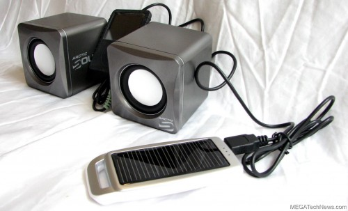 MEGATech Reviews - Arctic Power C1 Mobile Solar Battery and Arctic Sound S111 Portable Speakers