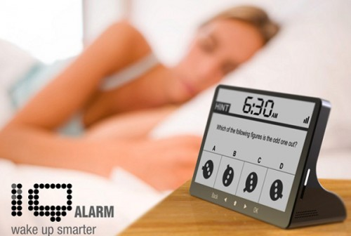 Wake Up Smarter With the IQ Alarm Clock