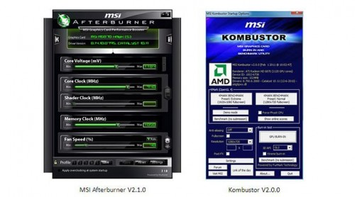 MSI Wants to be YOUR Wing Man with New AfterBurner Software Version