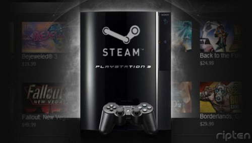 Steam on PS3