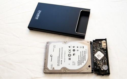 MEGATech Reviews - Zalman ZM-VE200 External HDD Case and Virtual Drive