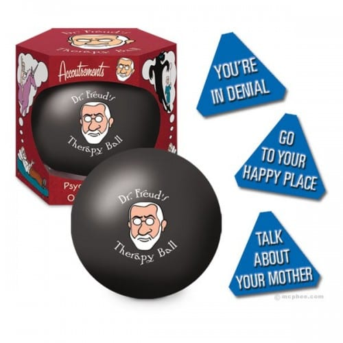 Can't Afford a Psychologist? Get Dr. Freud's Therapy Ball