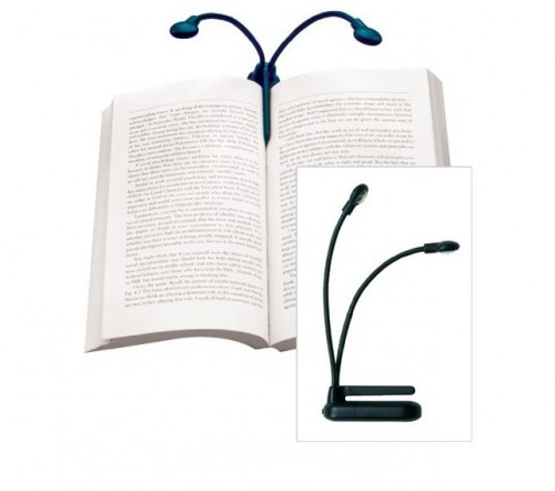 Love Reading? How About a Hydra Two-Headed Book Lamp?