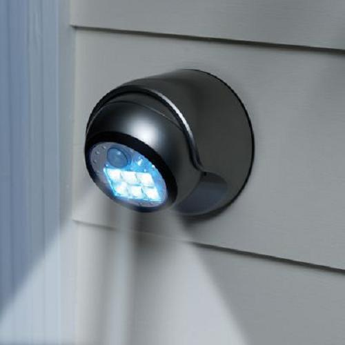 Left in the Dark? Get a Cordless Motion Activated Light
