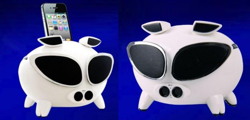 Rock Out With the Speakal Cool iPig