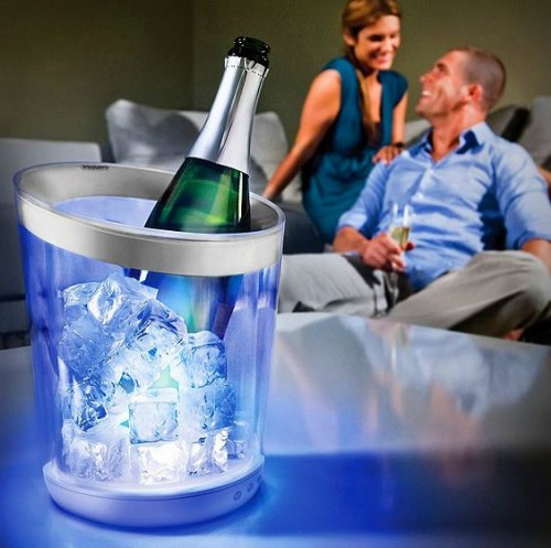Set the Mood with the Philips Color Changing Ice Bucket