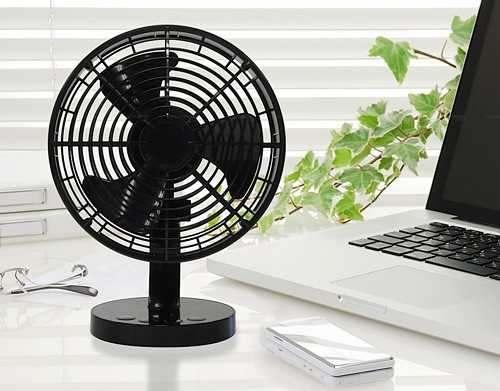 Desk Area Too Warm? Get a Voice Controlled USB Fan!