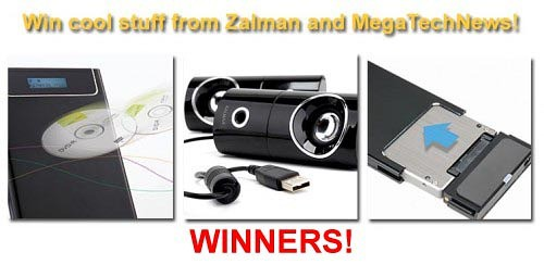 Winners of Techie Twitter Tuesday Giveaway