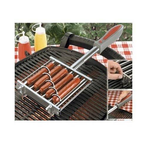 Get Perfect Dogs With the Automatic Hot Dog Grill Roller