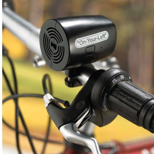 Verbal Bicycle Bell Lets Them Know You're Coming