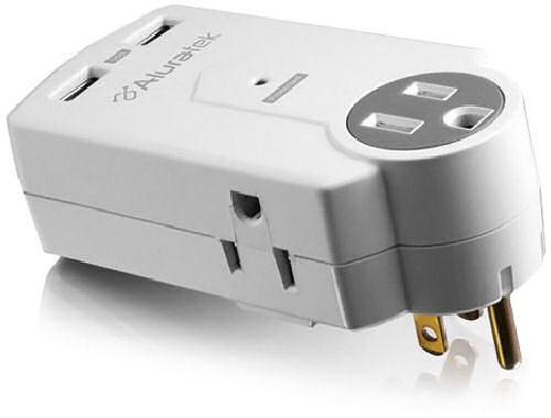 Aluratek Dual USB Charging Station Makes Traveling Easier