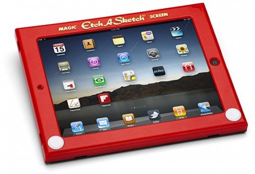 You Don't Have To Grow Up, Get an Etch-A-Sketch iPad Case