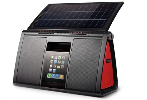 Eton Soulra XL Solar iPhone Boombox For the Summer