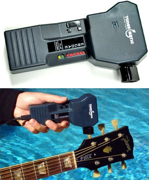 Tunermatic Automatic Guitar Tuner for the Terminally Lazy