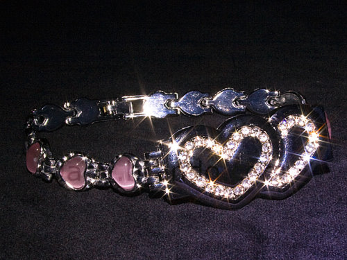 USB Hearts Bracelet for the Girly Geek