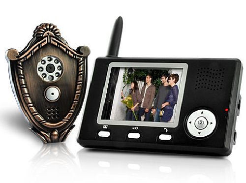 Wireless Video Door Phone + Automatic Door Opener = Win
