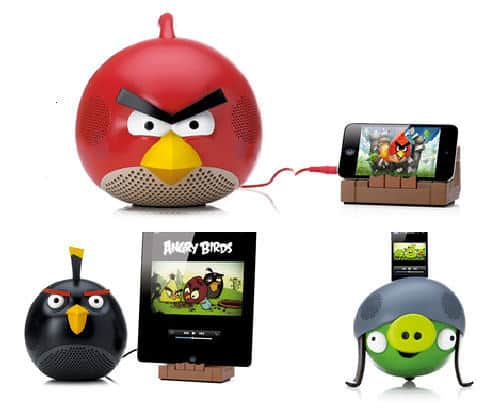 Defend Your Nest With Angry Birds Speakers