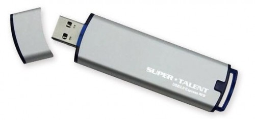 Super Talent RC8 Portable SSD Shaped Like USB Flash Drive
