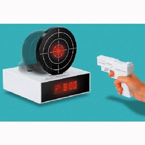 Test Your Aim With the Target Alarm Clock
