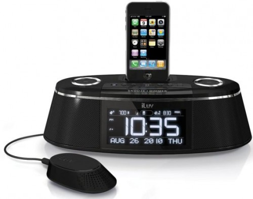 Dual Alarm Clock With Bed Shaker Makes Waking Up An Adventure