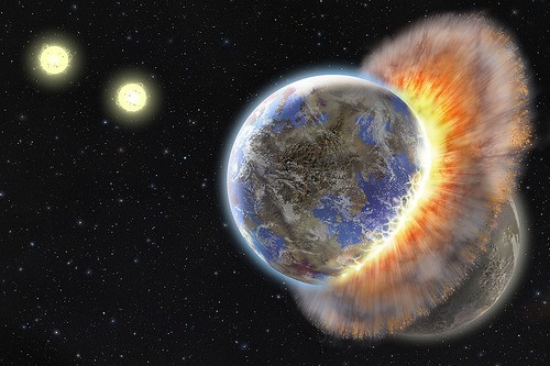 Scientists Busily Toying with Earth's Destruction