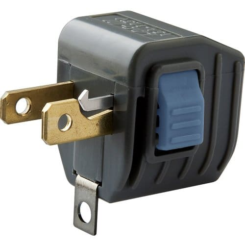 Loc-In Locking Outlet Plug Ends Unplugging Mishaps