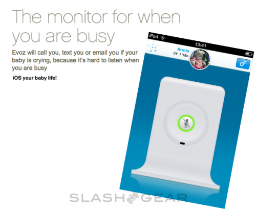 Evoz Baby Monitor App for iPad: When You Have Too Much Money To Spare