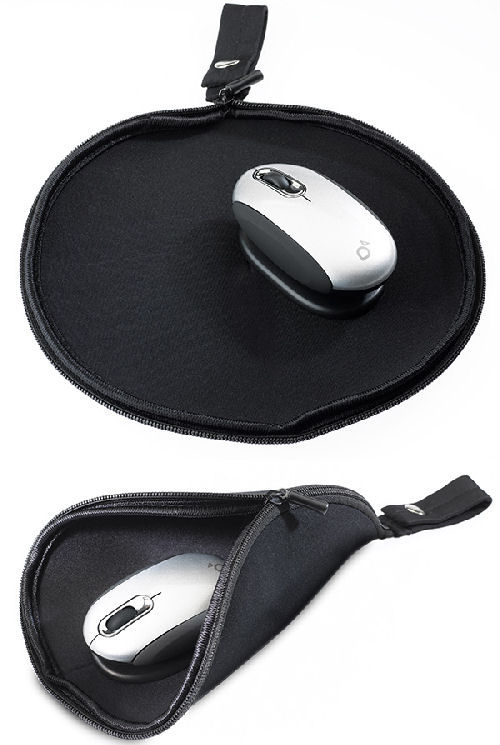 Off-Desk Made Easy With the Mouse Pad Travel Pouch