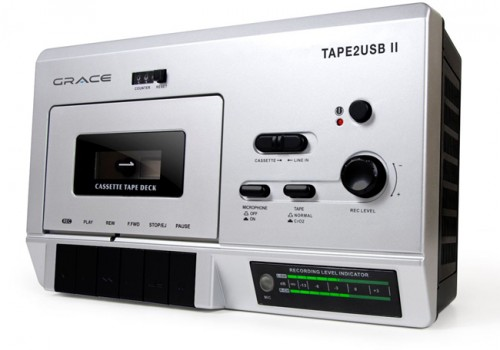 Dust Off Your Cassette Collection, It's the Tape 2 USB II Recorder!