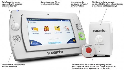 Ease Your Worries About Mom With Sonamba