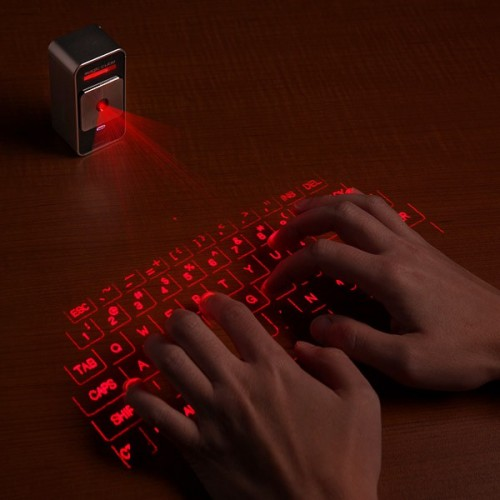 Celluon Virtual Laser Keyboard Has Sound Too