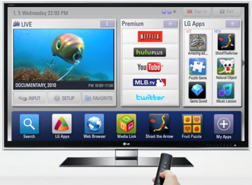 SmartTV Apps Standard Proposed by LG, Sharp and Philips