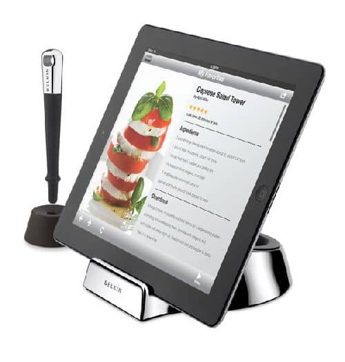 iPad Dock for Chefs Brings Your Tablet to the Kitchen