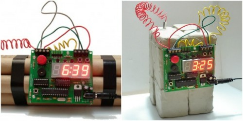 Defusable Alarm Clock Starts Your Day Off With a Bang