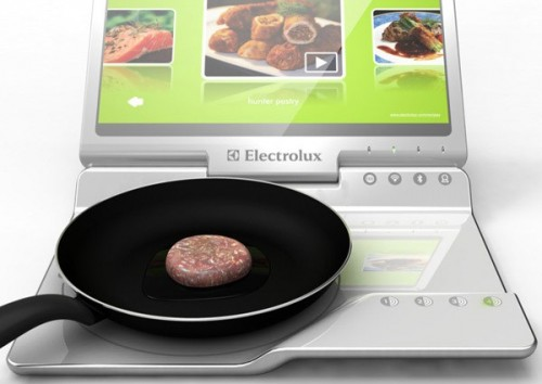 Electrolux Mobile Kitchen: Have Your Laptop and Eat From It Too