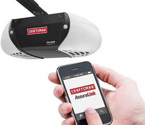 Smartphone Garage Door Opener is Great...As Long as Your Battery Doesn't Die