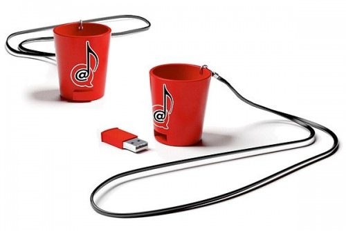 USB Shot Glass: For the Musical Drunk
