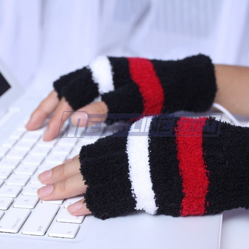 USB Heated Warmer Gloves: Just the Thing For Cold Winter Nights