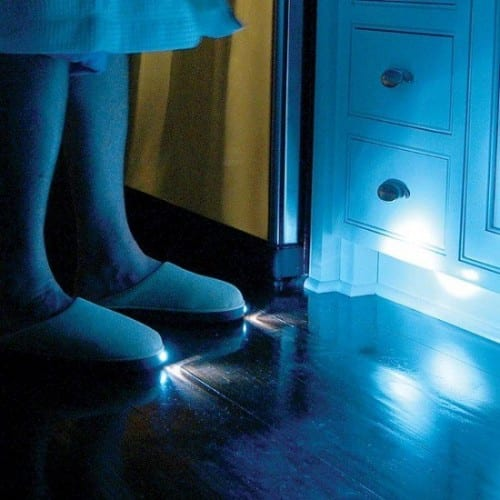 End Nighttime Mishaps With Light-Up Slippers